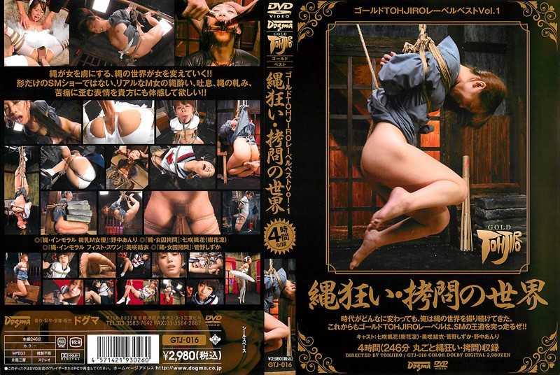 GTJ-016 Gold Label TOHJIRO Best Vol.1 –  Gold TOHJIRO Label