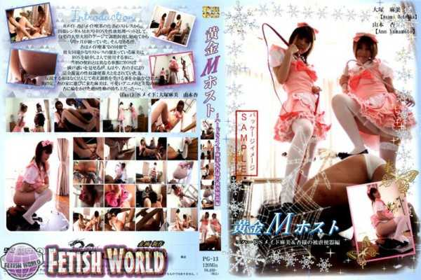 PG-13 golden M host hard S maid Asami & apricot-like masochism toilet Hen costume Torture Maid Costume Rape Made-Based 1.10 GB
