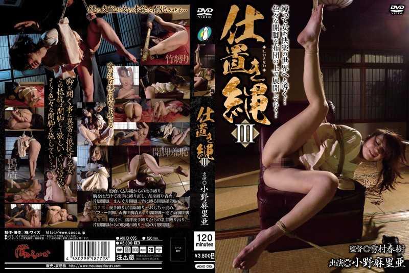 AKHO-095 Punishment Rope III Ono Maria –  Aka Hotaruika / Mousou Zoku Burakkure-beru