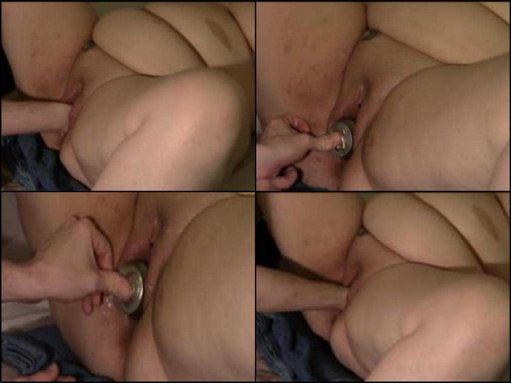 Amateur amazing bbw fisting and tin pussy