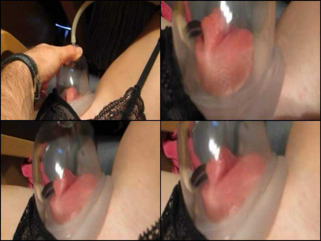 Sweet bitch homemade pumping pussy closeup