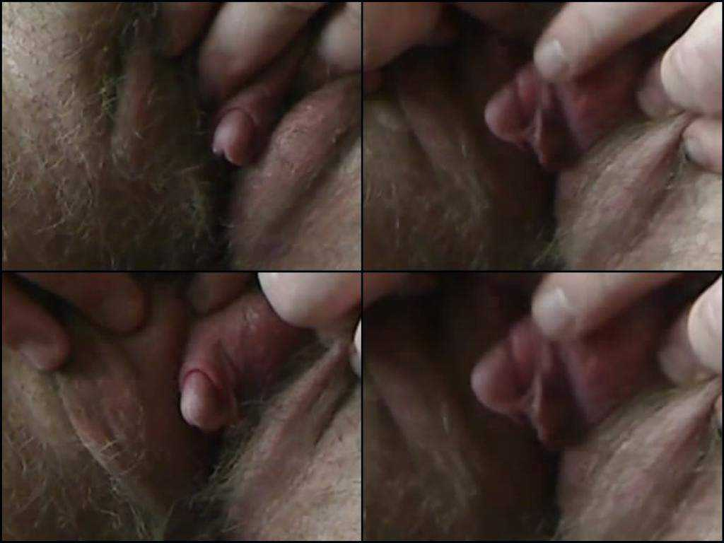 Webcam hairy mature with big clit