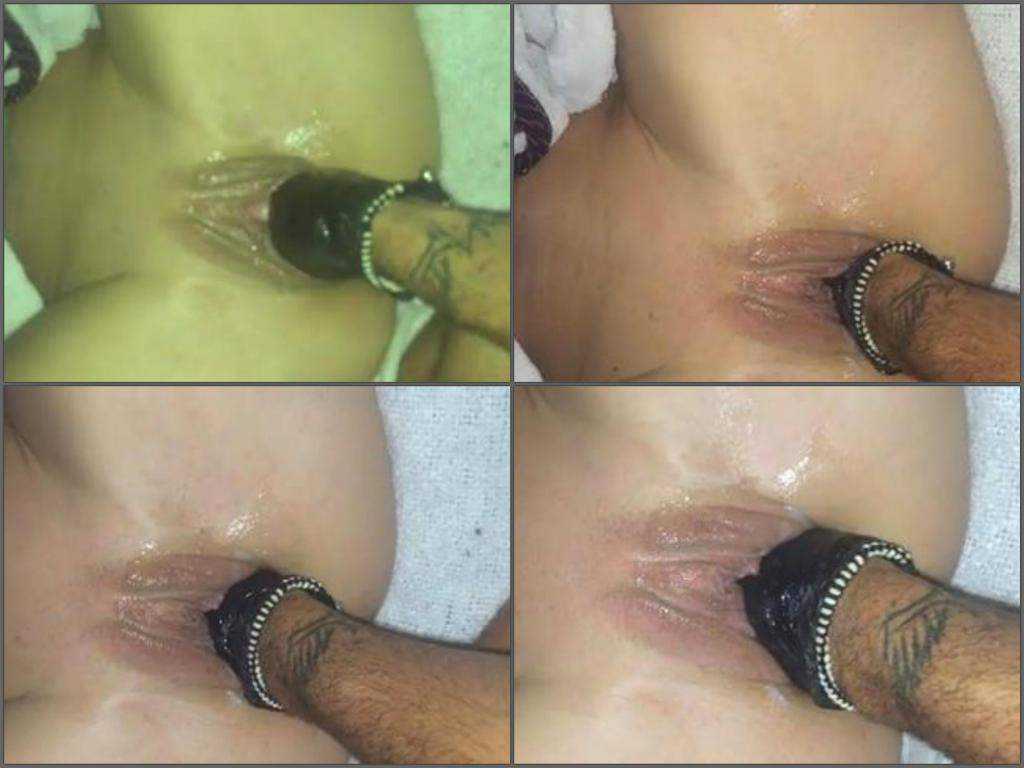 Abuse german couple homemade fisting sex POV closeup