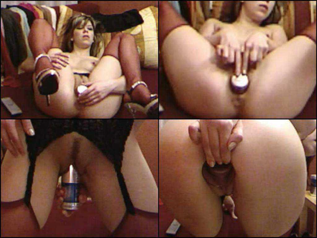 Webcam blonde girl adrenalin rush pussy