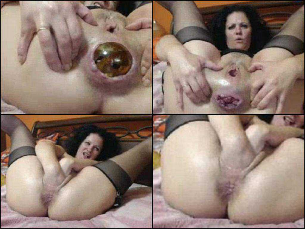 Very close big ball in rosebud anal amateur mature