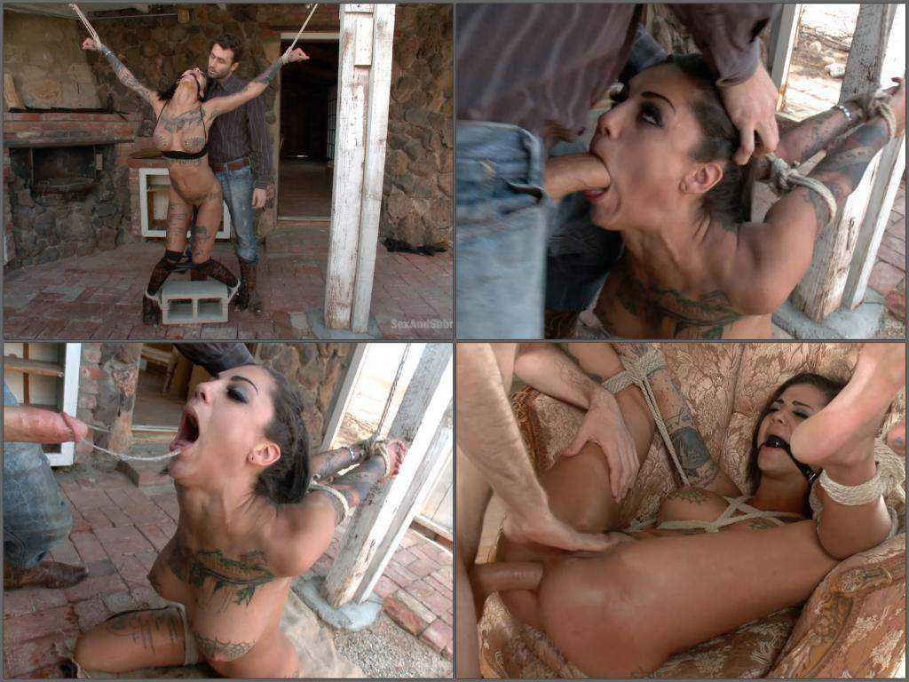 Bonnie Rotten anal prolapse and squirting maledom