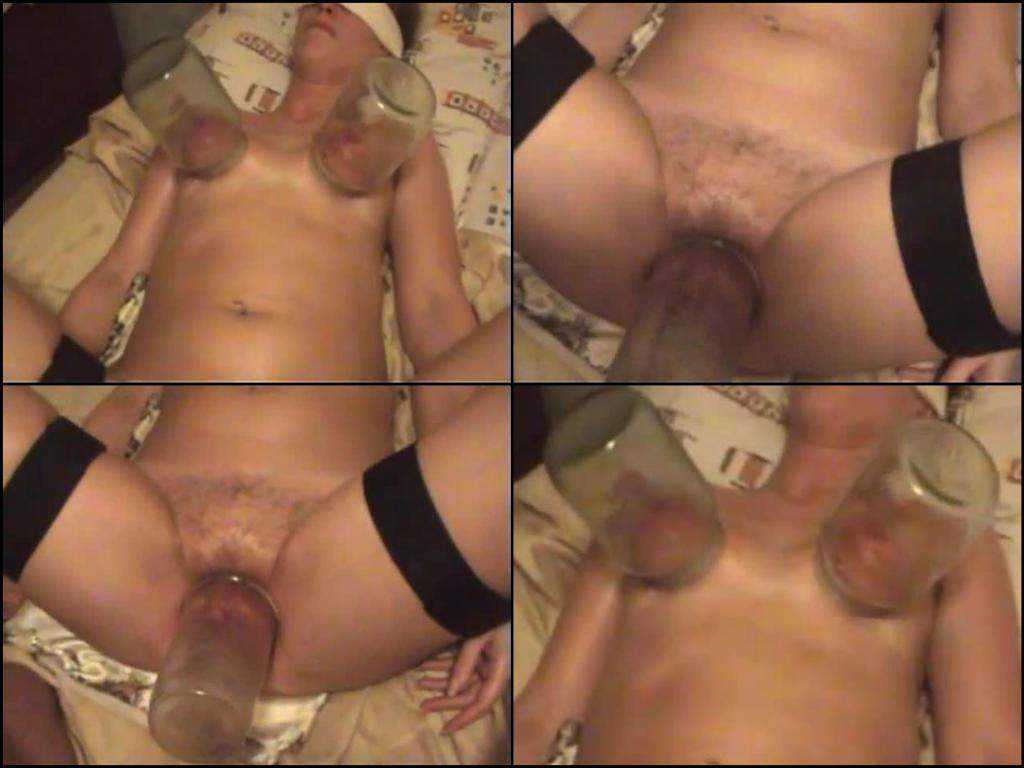 Amateur hairy mature pumping pussy and saggy tits