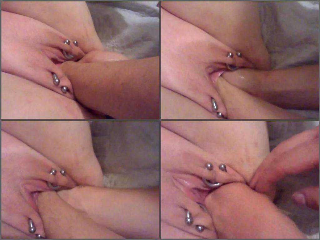 Double extreme fisting horny wife very close video