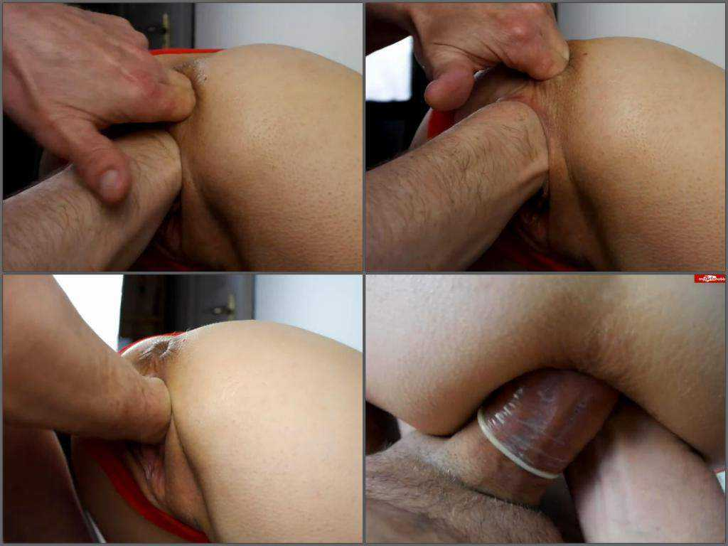 Fantastical amateur double penetration POV video
