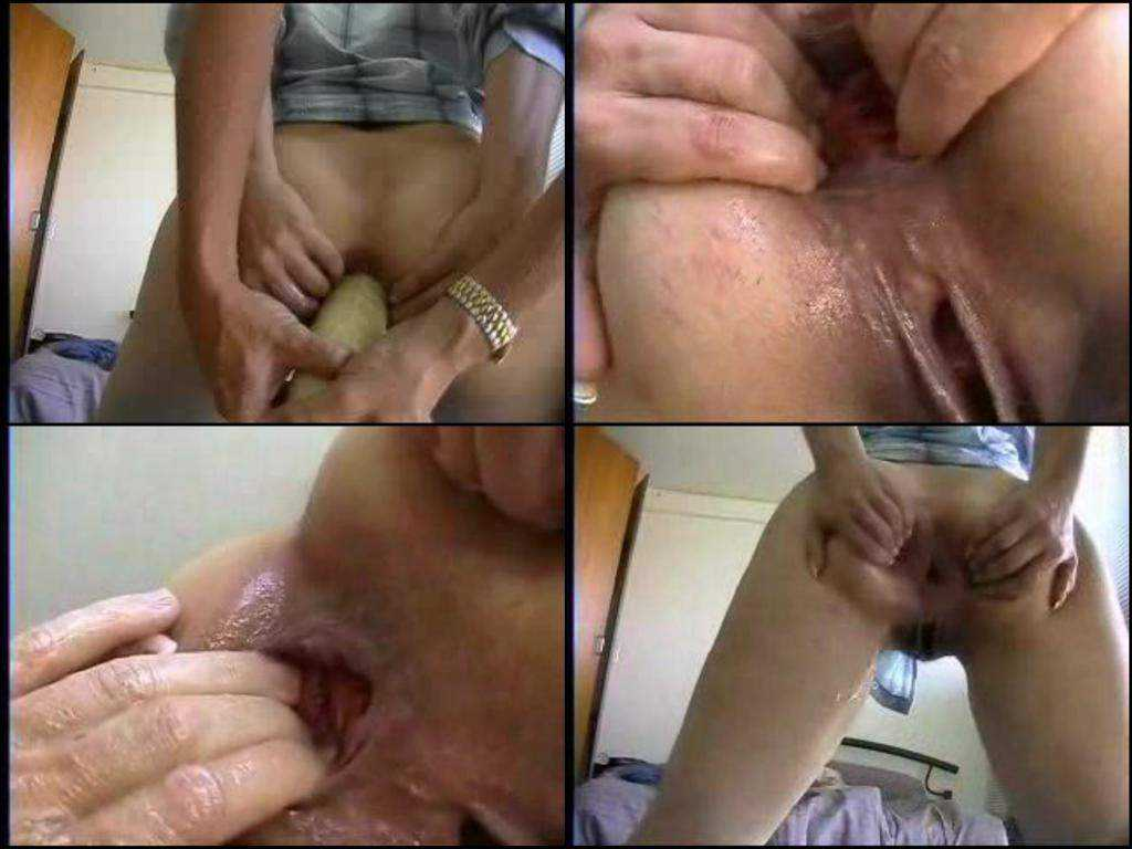 Extreme anal fisting gaping and rosebutt