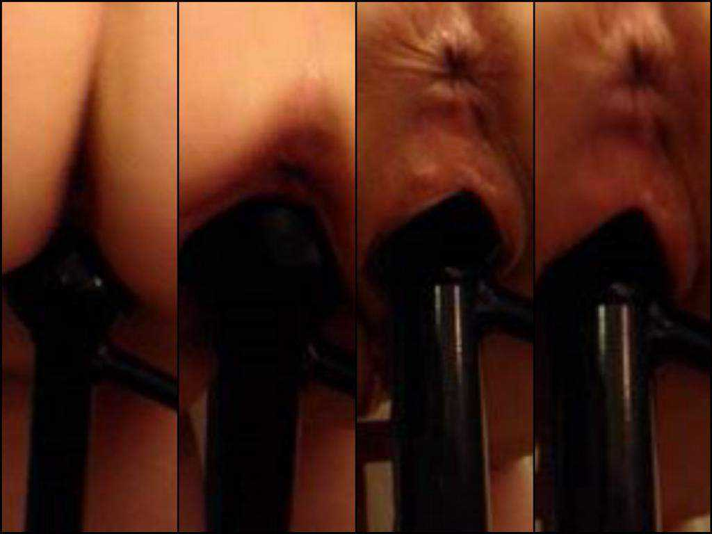 Hot milf bedpost riding amateur video