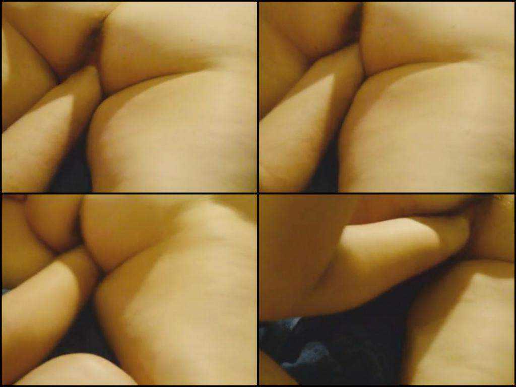 Homemade two plump lesbians deep fisting