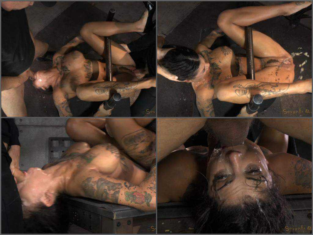 Matt Williams and OwenGray deepthroat domination Bonnie Rotten
