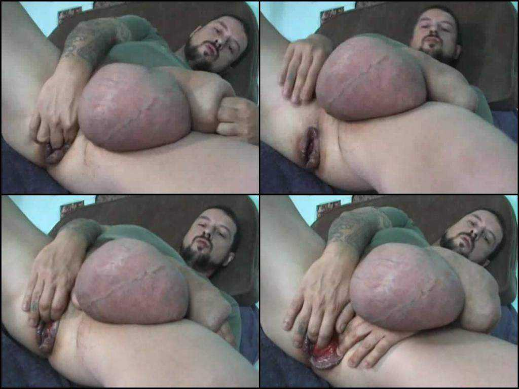 Webcam shocking size cock and rosebutt anal