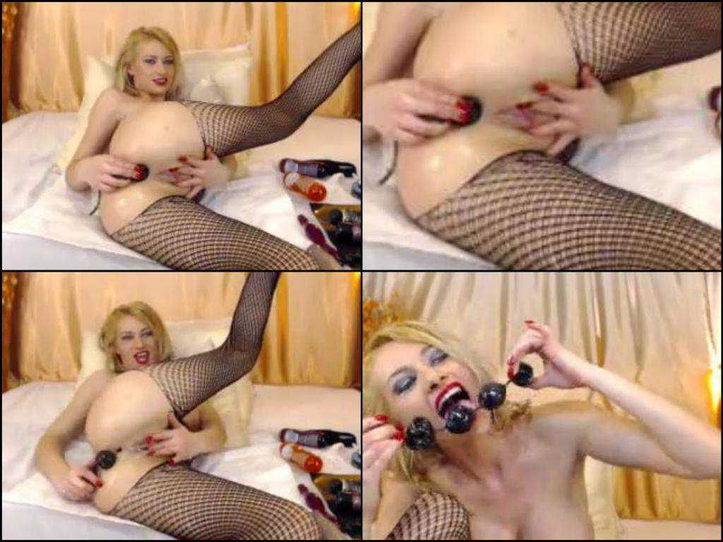 Hot webcam blonde more ball anal fuck