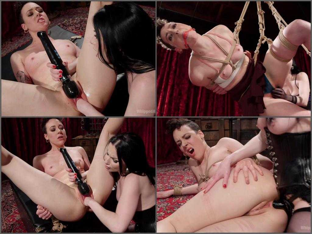 New 13.04.2017 Veruca James and Lilith Luxe fisting domination