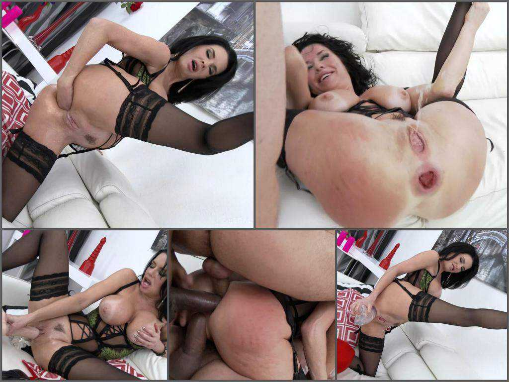 New 2017 Veronica Avluv triple penetration to sweet rosebutt