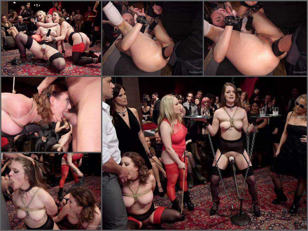 New 28.04.2017 Aiden Starr, Cherry Torn and Nora Riley public domination