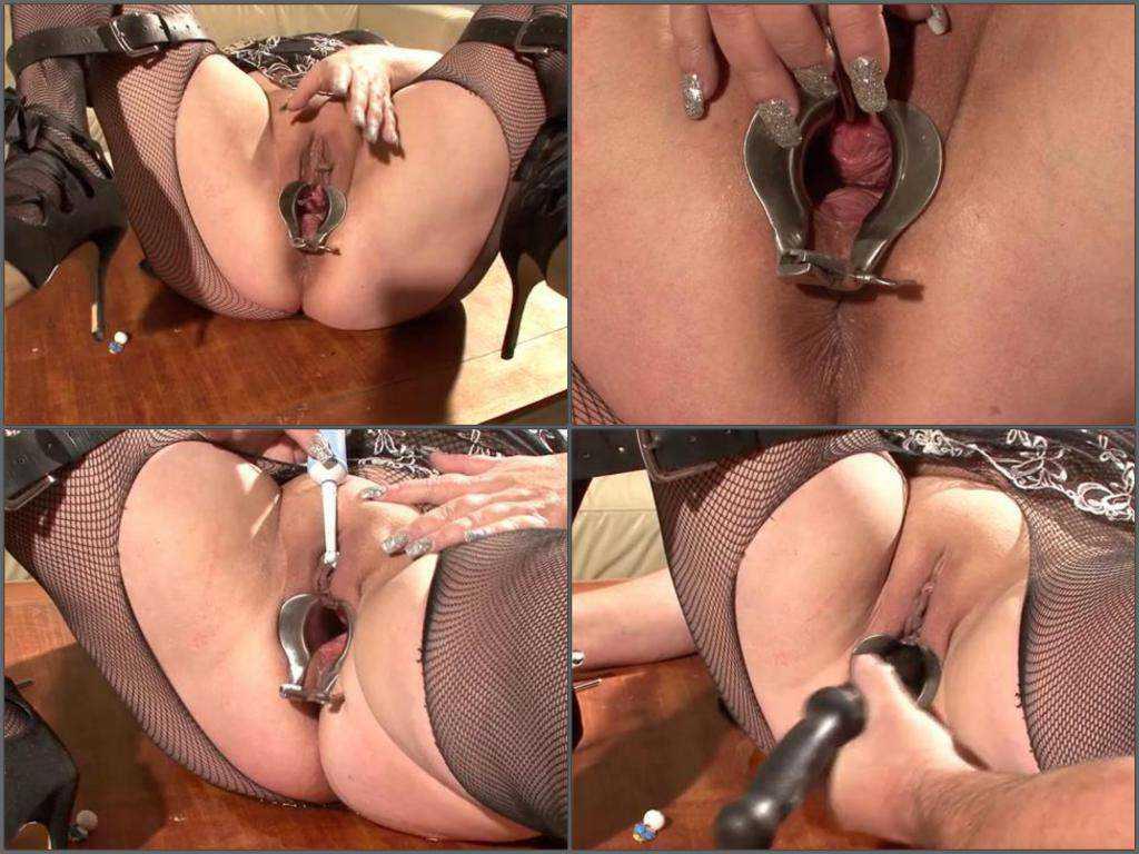 POV amateur porn fatty wife enjoy speculum penetration