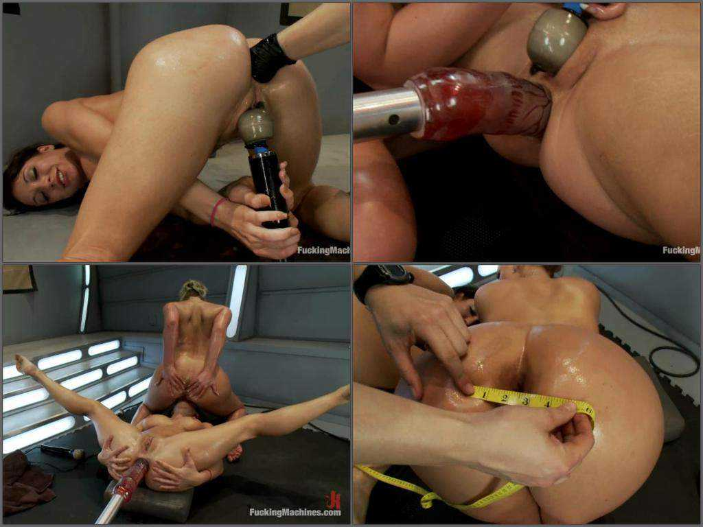 Phoenix Marie and Amy Brooke fucking machine porn and gets fisted