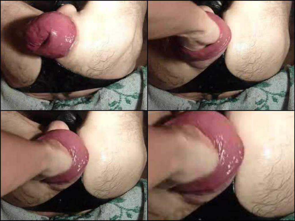 Amateur man monster asshole prolapse fisting