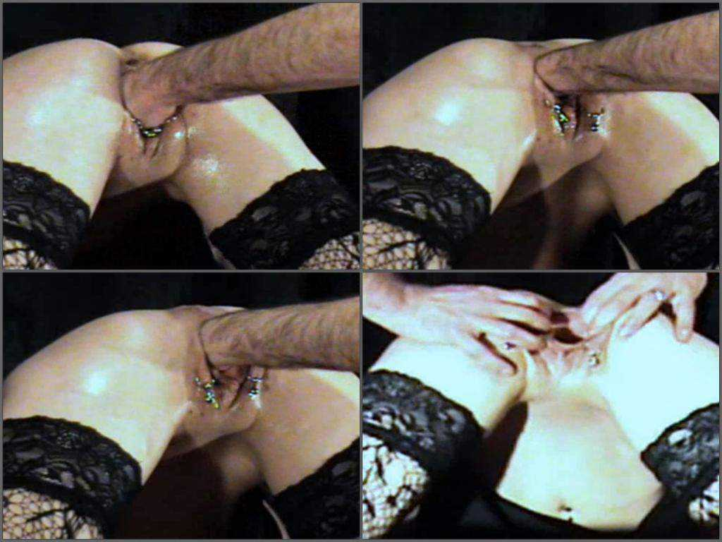 Vaginal fisting vintage amateur video with dirty couple