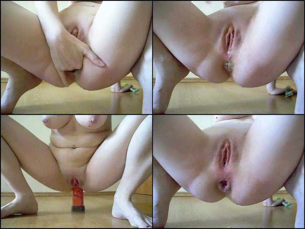 Brutal lady pepper pot with Wasabi anal and Rosebutt ass