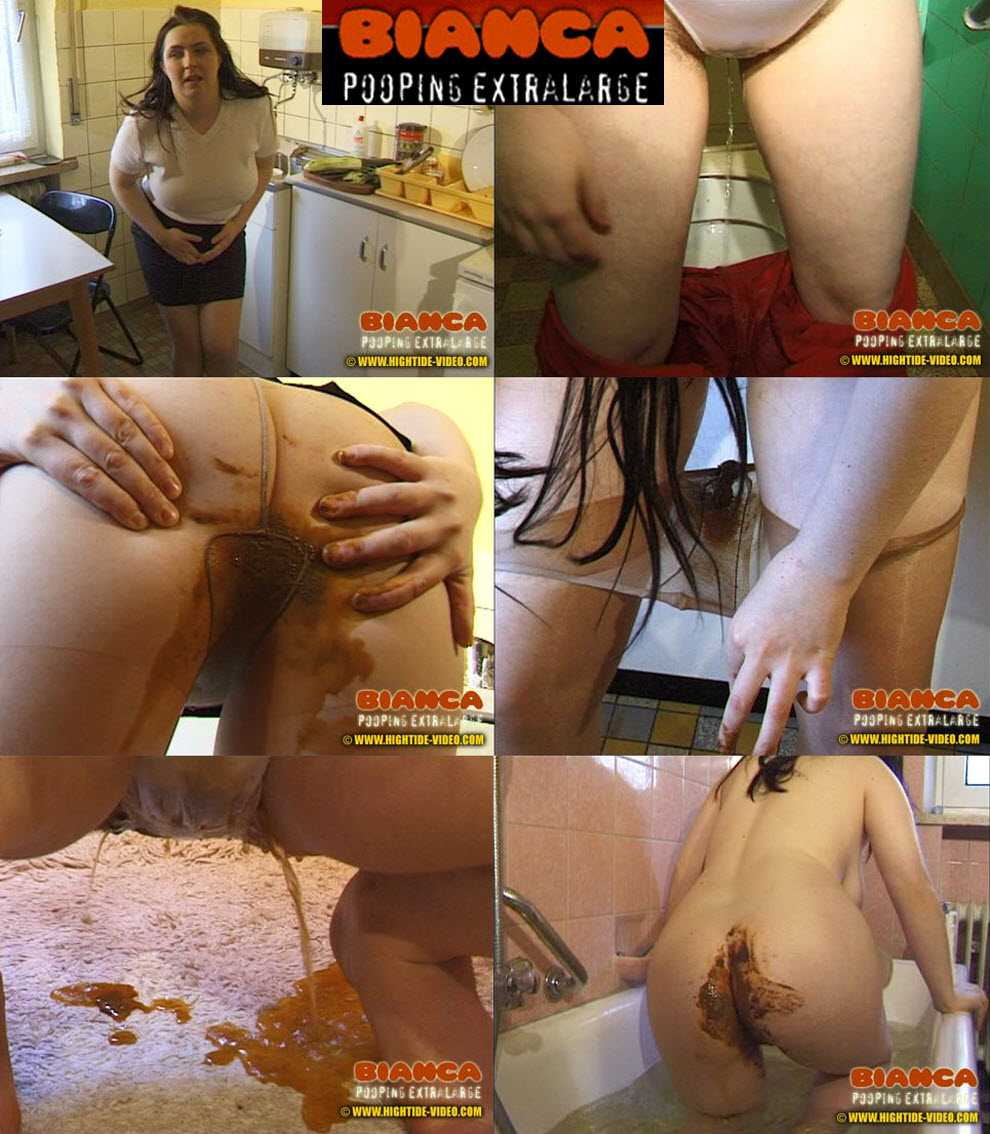 Bianca Pooping Extralarge | 2002 | Hightide-Video