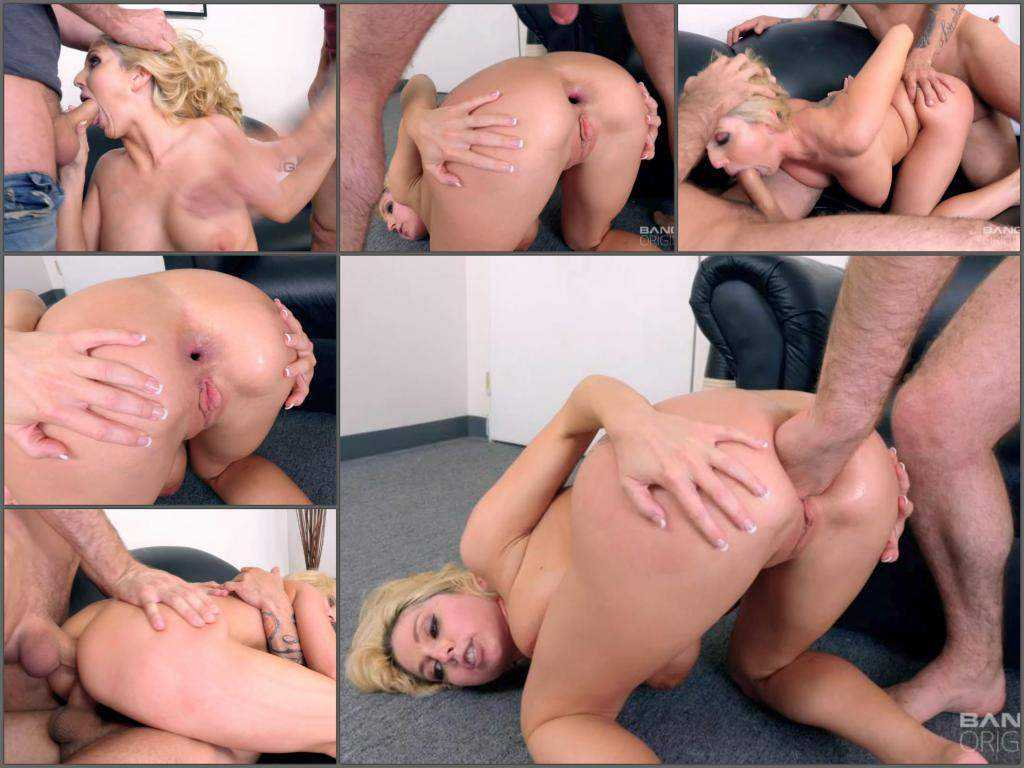 Christie Stevens anal gape loose and hardcore DAP – Release July 03, 2017