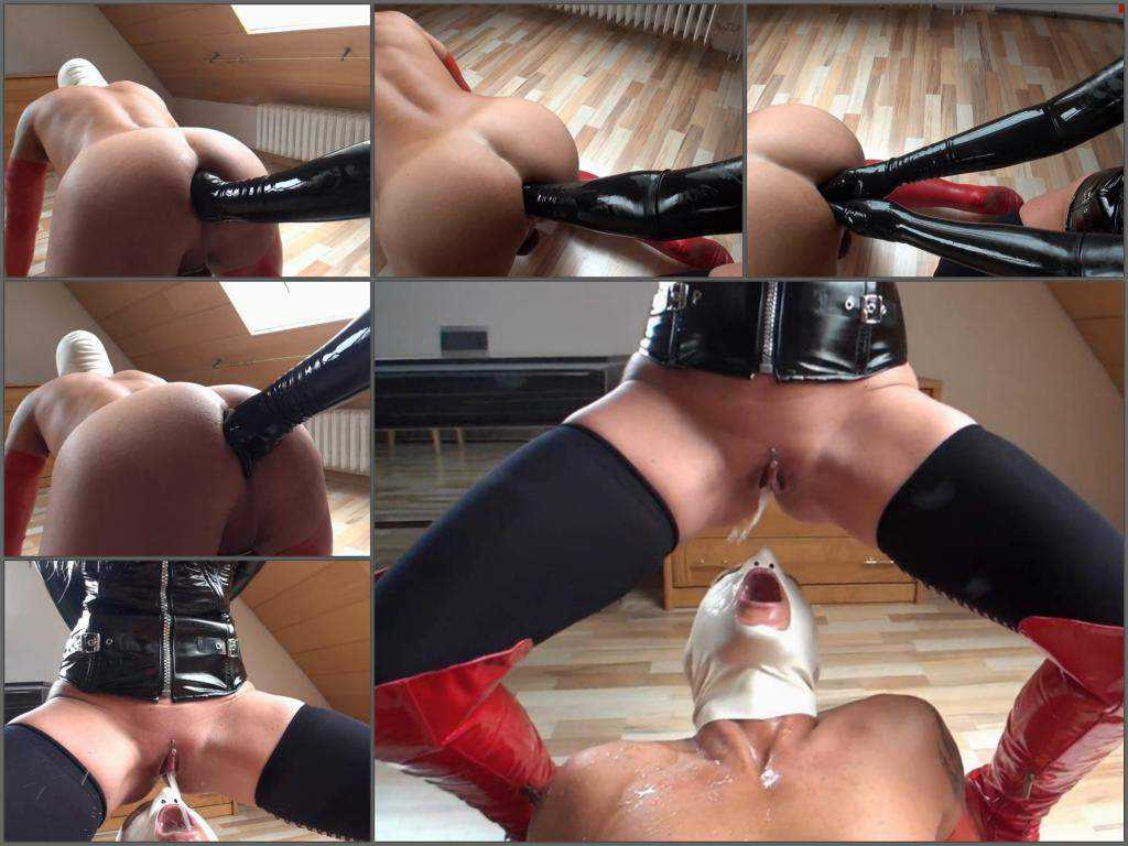 Masked slave gets double fisting anal hardcore – Release September 06, 2017
