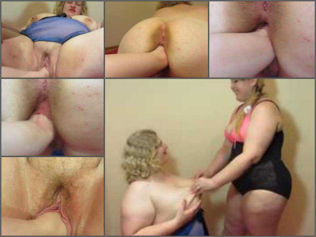 Really hot amateur russian bbw gets fisted hardcore