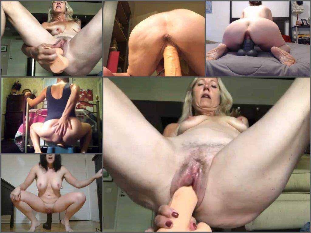 Rare amateur amazing girls dildo penetration compilation