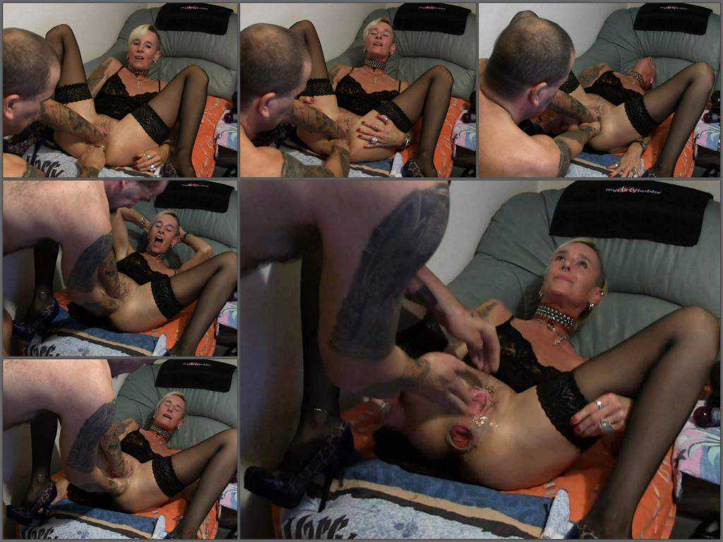 Lady-Isabell666 gets double fisted amateur – Release December 13, 2017