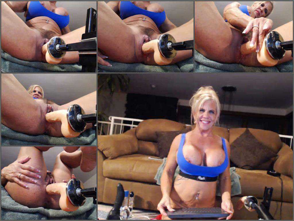 New Busty Whore Webcam Huge Ball Anal Insertion -2714