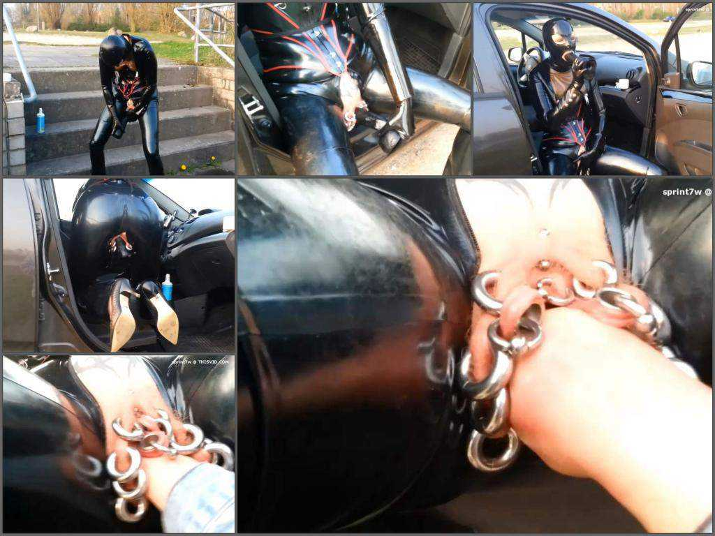 Piercings – Rubber wife sprint7w gets fisted and dildo porn solo outdoor