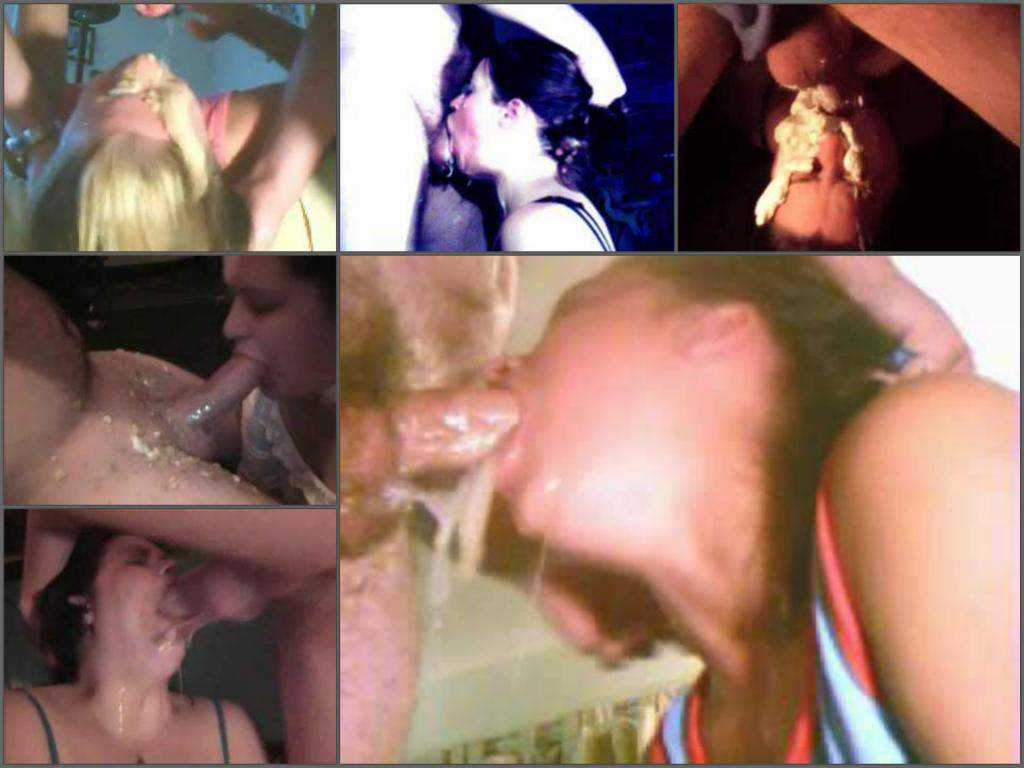 Throat gaggers – Unique amateur deepthroat to vomit porn compilation – 39 videos