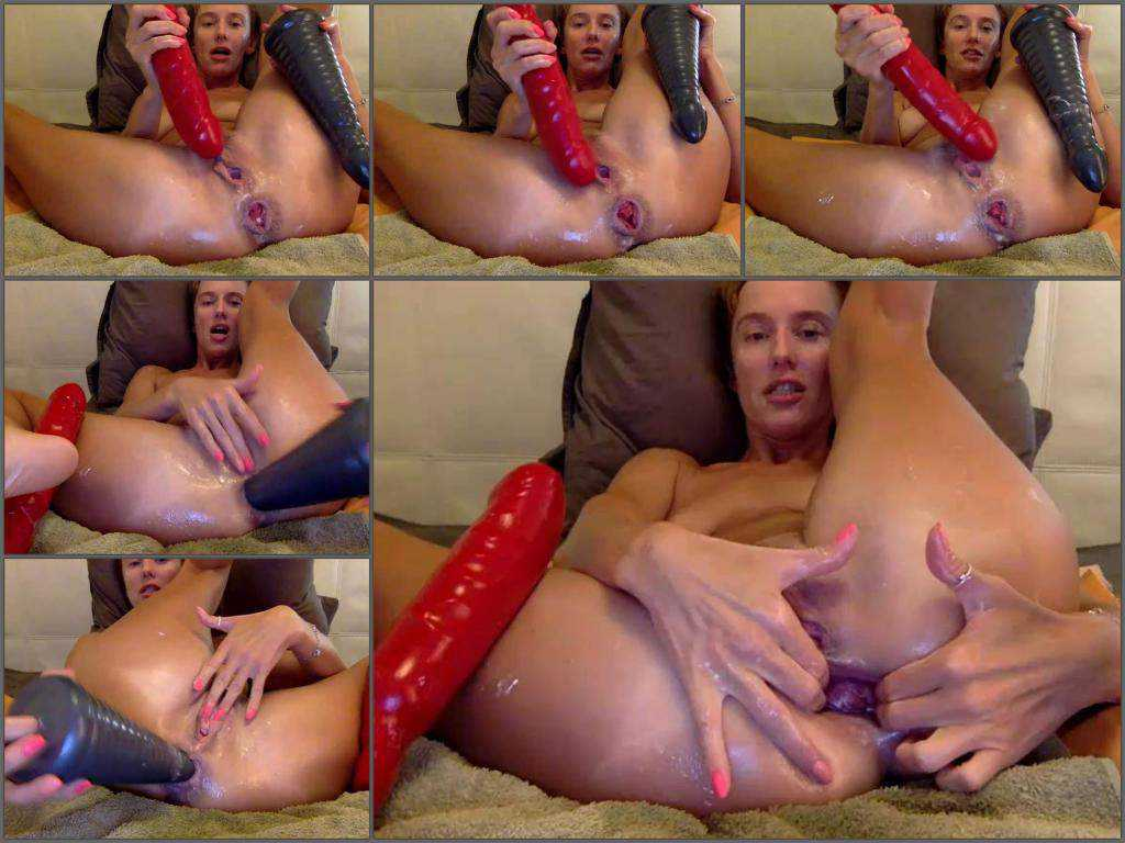 Webcam mature bbmix996 anal rosebutt loose with two dildos