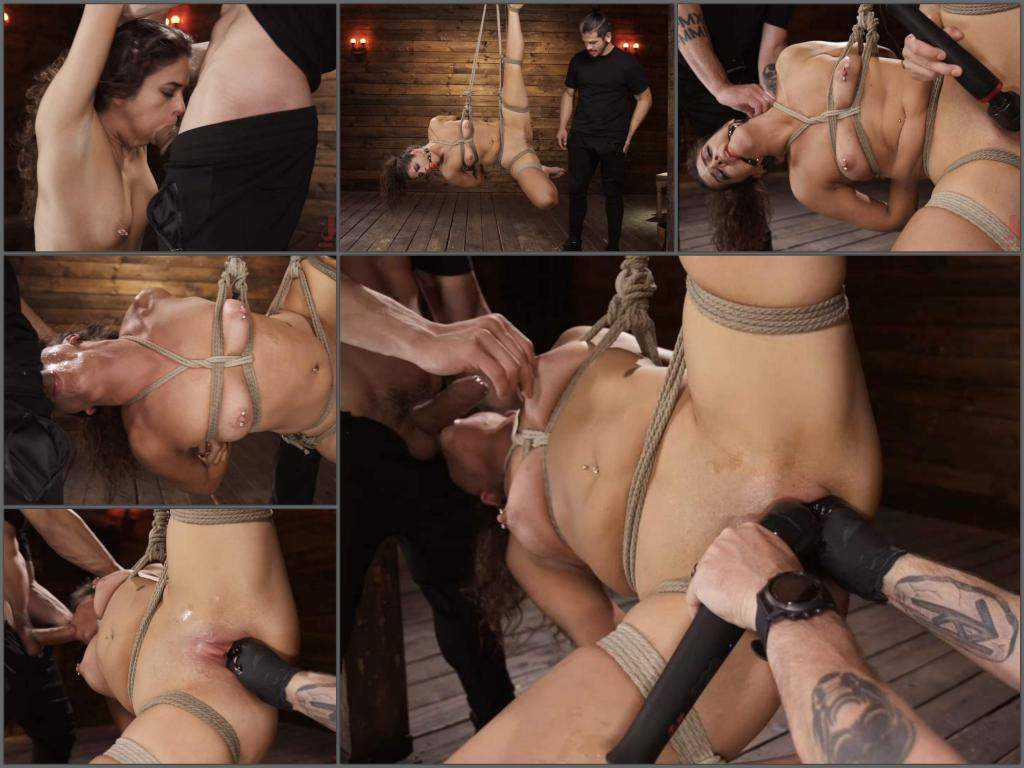 Pussy fisting – Victoria Voxxx bondage domination, throat fuck and fisting