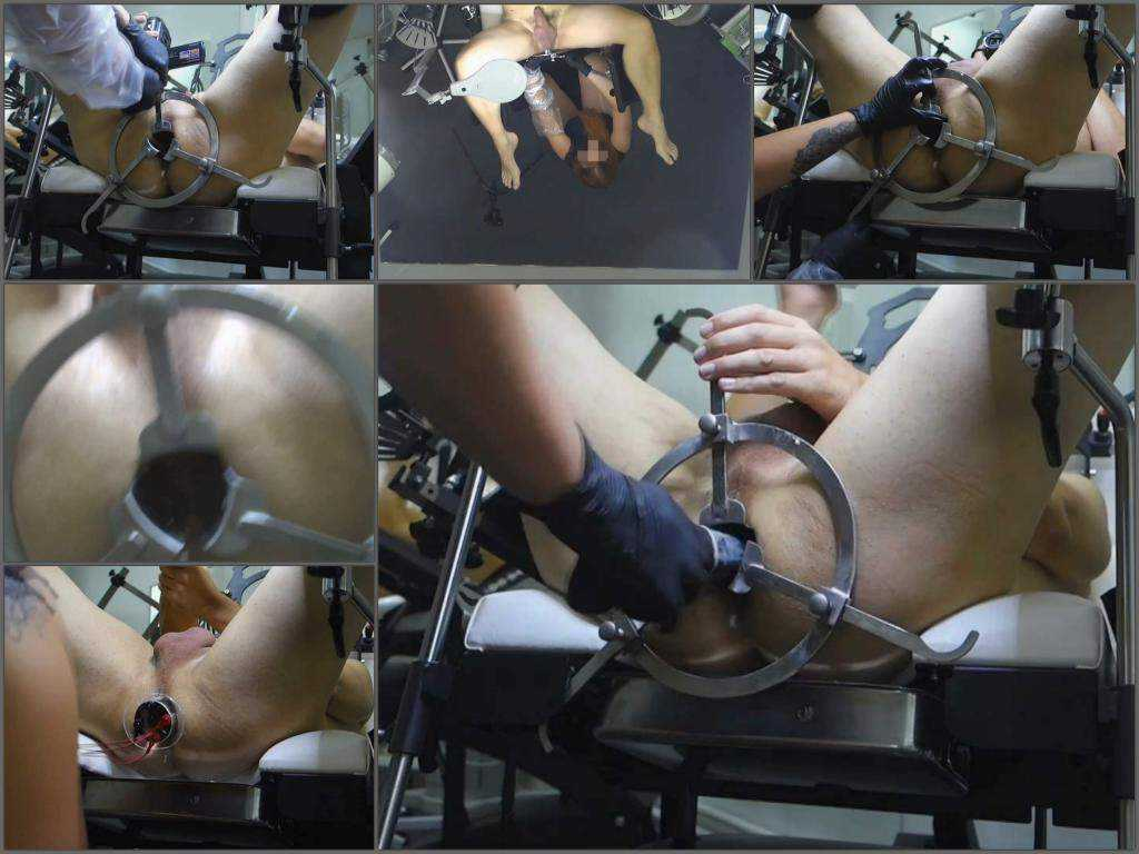 Speculum examination – Unique amateur femdom speculum and monster strapon domination wife