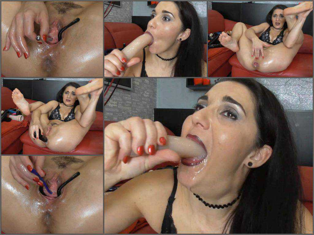 Deepthroat – BIackAngel dirty ass to mouth and peehole fucking closeup