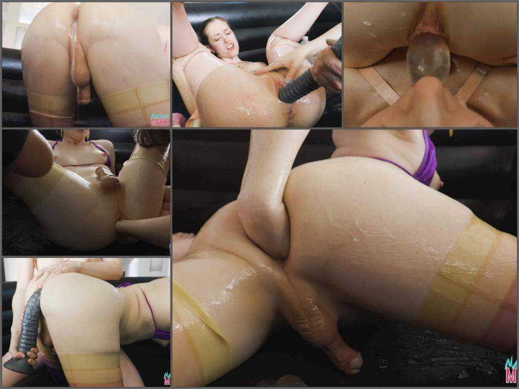 Anal stretching – Natalie Mars slippery, slimy, egg-filled sluts – Full HD shemale porn