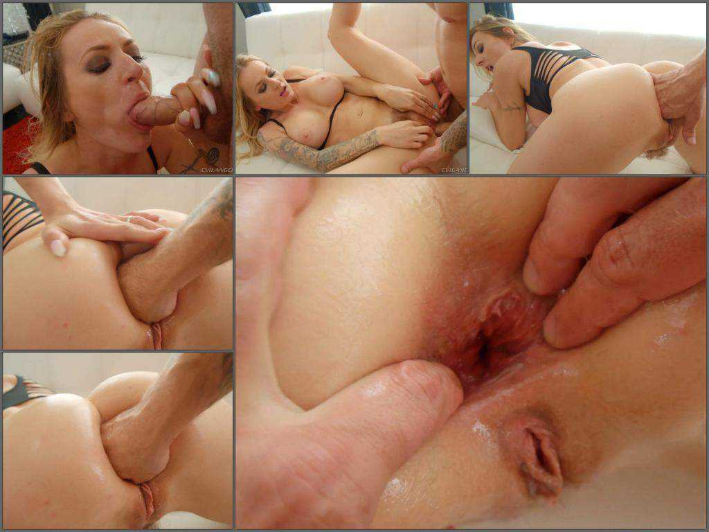 Gape ass – Natasha Starr gets fisted and rough anal to gaping
