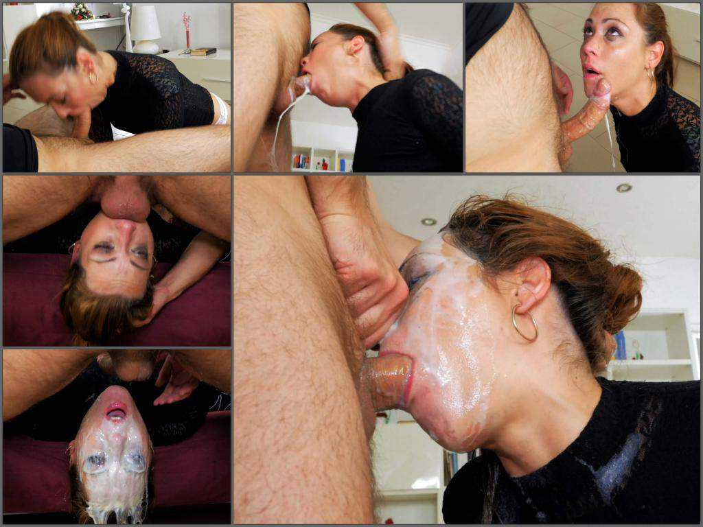 4k porn – Rare 4k deepthroat fuck porn with amazing vomit on face