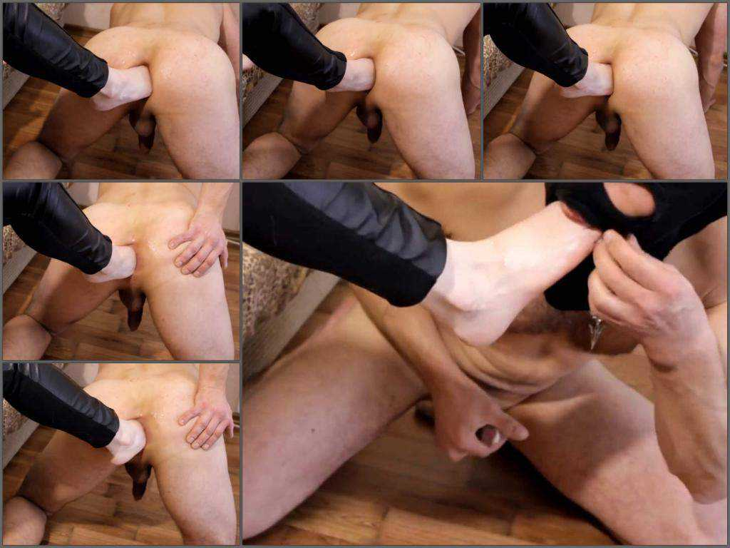 Female domination – Masked male femdom footing anal hardcore in doggy style pose