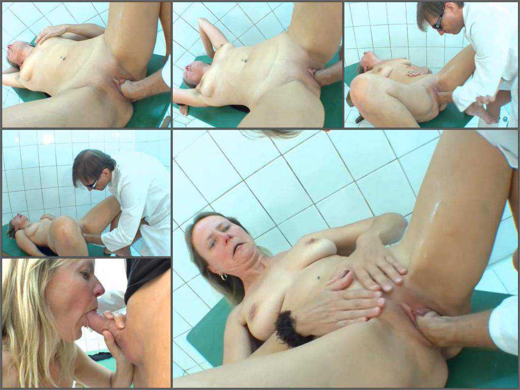 German girl – Old german MILF gets fisted from male unique amateur porn