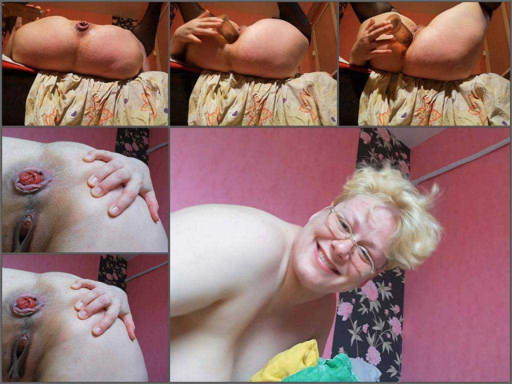 Rosebutt – BBW Rumiaaanka dirty anal, gape and prolapse