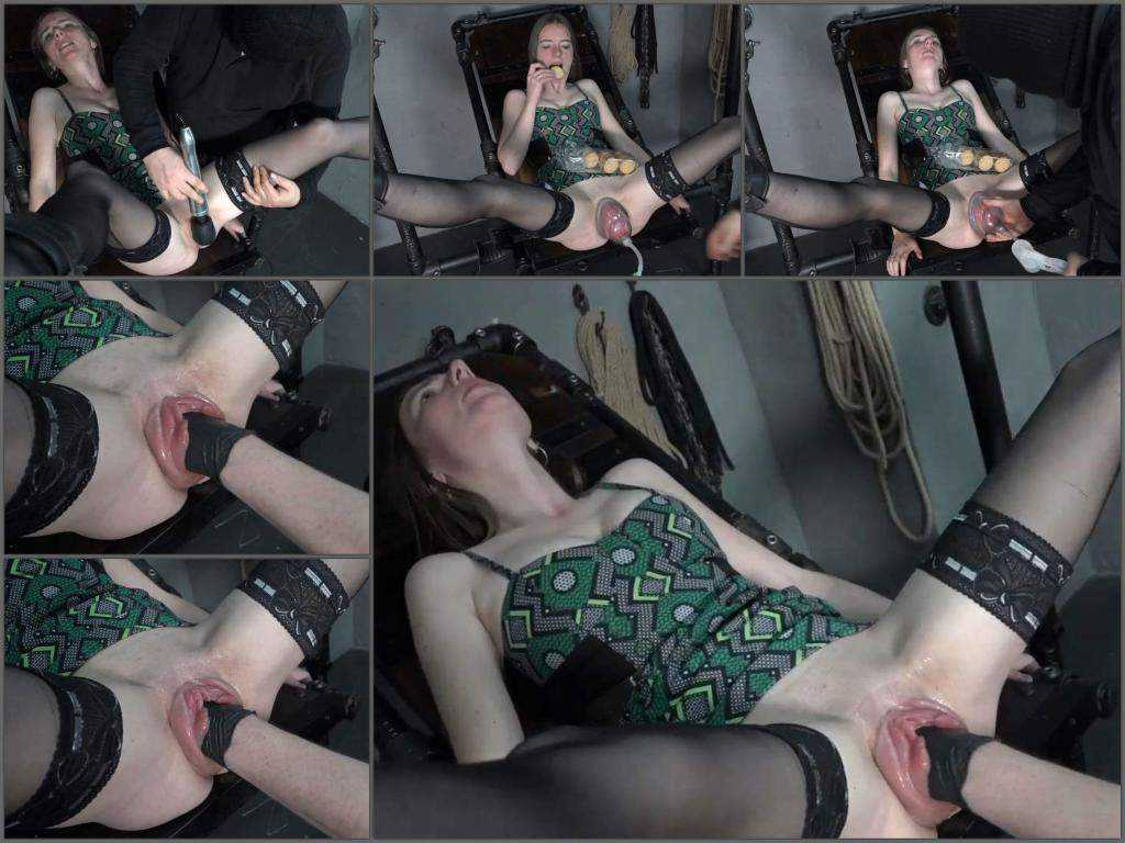 Bondage – Bondage KarinaHH gets fisted after amazing pussypump