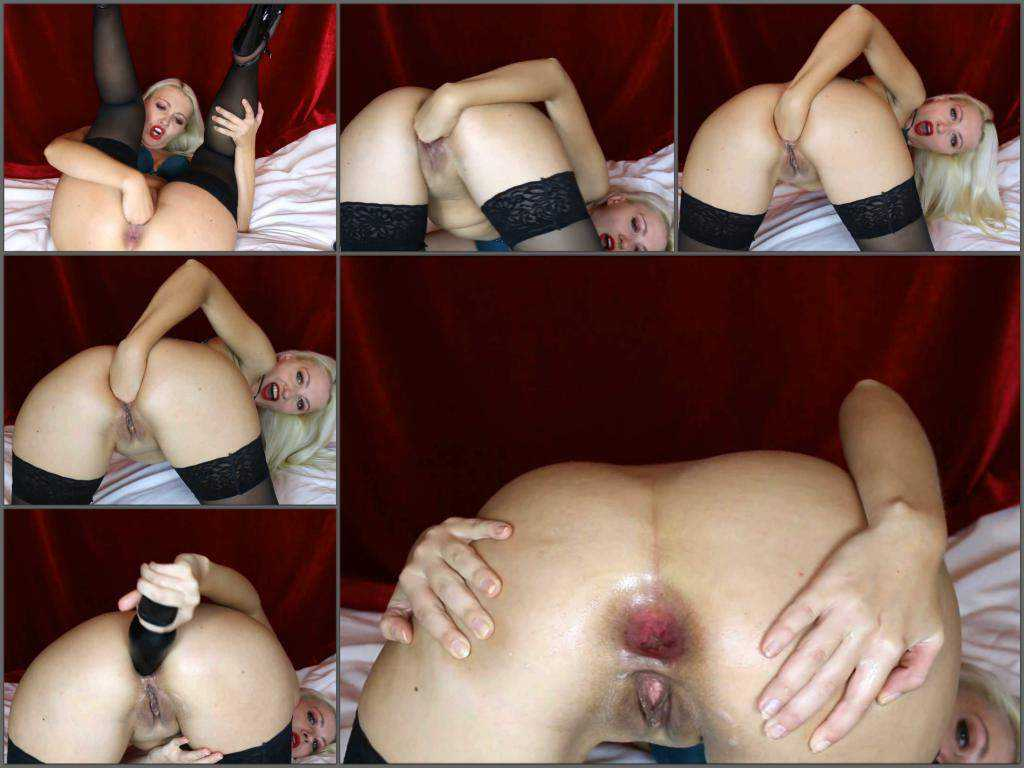 Webcam – Egedn777 self anal fisting to gaping in doggy style pose