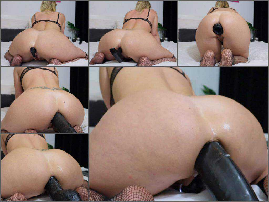 Anal – Helena Lana evening of anal fun use lots of big toys