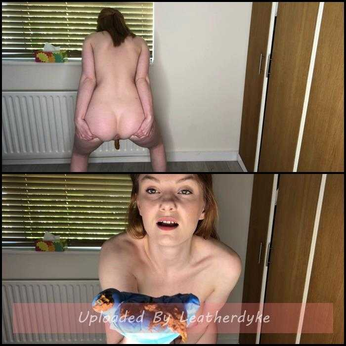 Shitting standing up & offering you poop with Hayley-x-x | Full HD 1080p | May 24, 2020